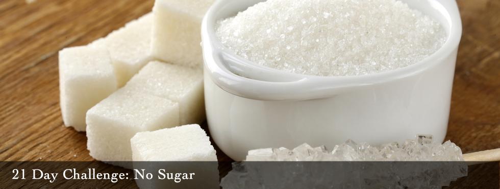 no sugar challenge