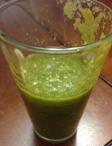 gross green smoothie